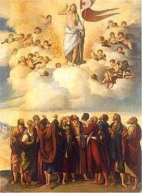 Ascension of Christ, 1542, Dosso Dossi,